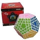 Cuberspeed Shengshou Gigaminx White Magic Cube Gigaminx Speed Cube