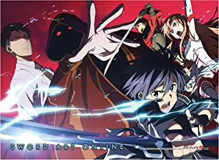 Sword Art Online 86333 Wall Scroll, Poster, Multi-Colored
