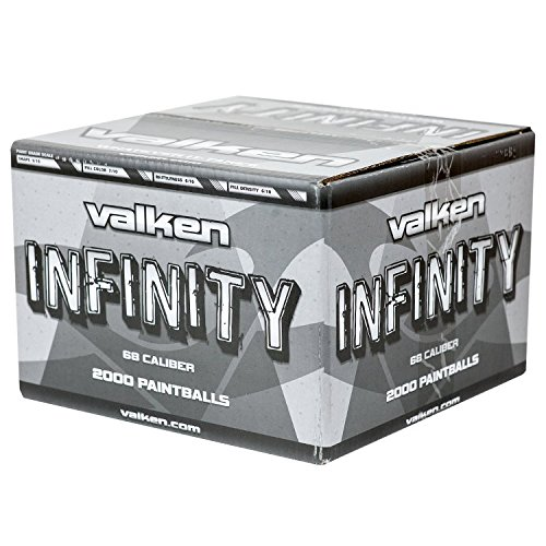Valken Infinity Paintballs - 68cal - 2,000ct - Yellow-Yellow Fill