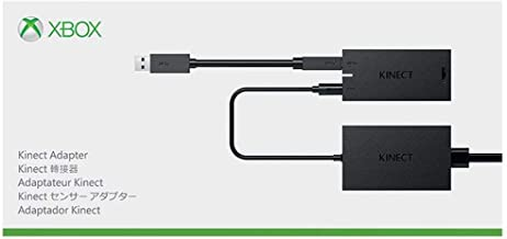 Original Xbox Kinect Adapter for Xbox One S, Xbox One X, and Windows 10 PC Kinect 2.0 3.0 Sensor AC Adapter Power Supply
