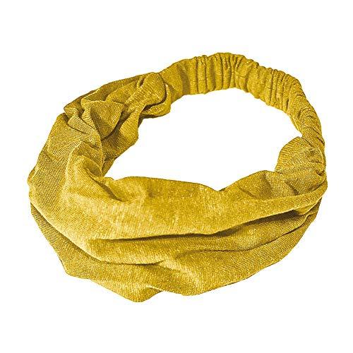 HempAge Damen Hanf Haarband (One Size, Curry)