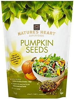 [Terrafertil] 自然の心カボチャの種の1キロ - Nature's Heart Pumpkin Seeds 1kg [並行輸入品]