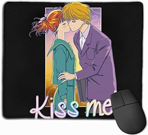 Marmalade Boy Kiss Me Mickey Yuu Computer Laptop Mousepad Stitched Edge Gaming Mouse Pad 11.8 'x9.8'