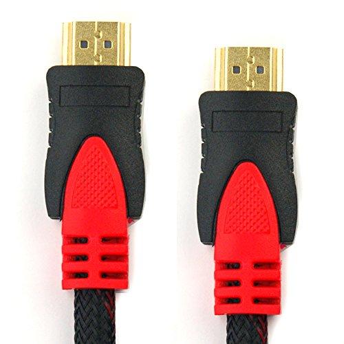 subtel HDMI Kabel (1.5m) 4K HDMI Version 1.4 für TV, DVD/Blu-ray Player & Co.