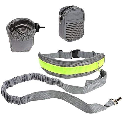 Correa de entrenamiento manos libres con cinturón ajustable, cuerda...