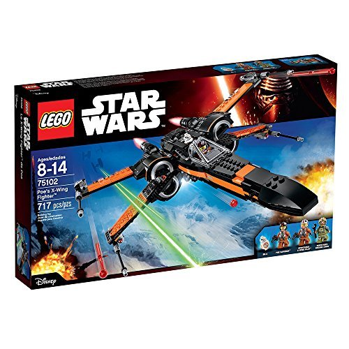 LEGO Star Wars Poe\'s X-Wing Fighter 75102 Building Kit