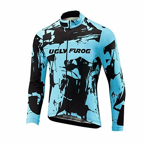 Uglyfrog #45 Ciclismo Jersey Hombres Manga Larga Primavera Maillots de Bicicleta de...