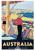 206674オーストラリア 装飾壁90x60プリントポスター