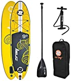 Z-Ray X1 9'9' All Around SUP Stand Up Paddle Board Package w/Pump,...