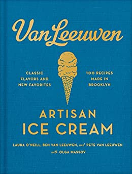 Van Leeuwen Artisan Ice Cream Book by [Olga  Massov]