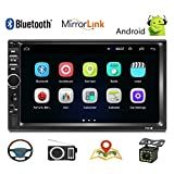 """Car Stereo - Double Din Car Radio Android 8.1 GPS Navigation 7"""" HD"""