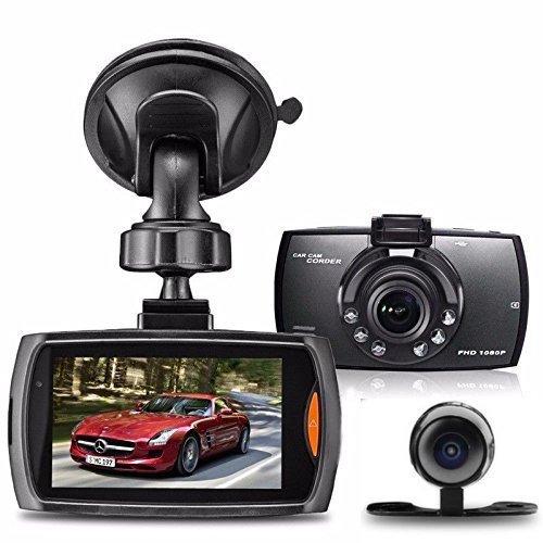 Dash Cam HD 1080P DVR-recorder voor auto's, dashboard-camera met nachtzicht, G-sensor bewegingsdetectie, parkeerbewaking, eindeloze opname, 140 ° groothoek