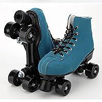 ハイトップ2列4ホイールアーティスティックローラースケートシューズスポーツシューズプレミアム裏地付きバリューパフォーマンスPUホイール初心者に適しています