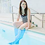 Seal Tight Sport Cast and Bandage Protector, Best Watertight Protection for Swimming, Adult Short Leg