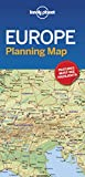 Lonely Planet Europe Planning Map [Idioma Inglés]