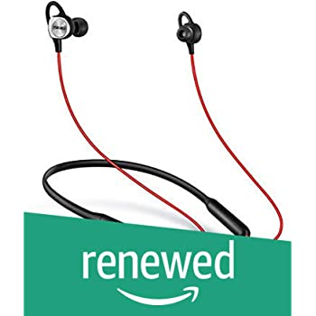 (Renewed) Meizu EP52 Sports Bluetooth Earphones (Black-Red)