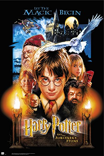 Grupo Erik GPE5054 Poster Harry Potter And The Sorcerers Stone, carta, Multicolore, 91 x 61,5 x 0,1 cm