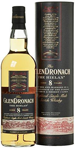 Glendronach 8 Years Old The Hielan' mit Geschenkverpackung Whisky (1 x 0.7 l)