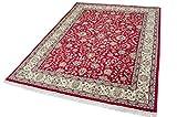 Parwis Mohammadi Tabriz Alfombra Lana Rojo, Lana, Rojo, 400 x 300 x 1,5 cm