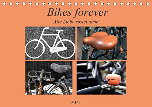 Bikes forever (Tischkalender 2021 DIN A5 quer)