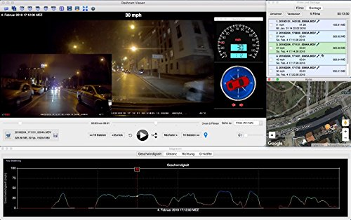 iTracker mini0906 duale GPS Autokamera Full HD Dashcam Dash-Cam - 9