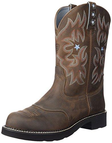 Ariat Women's Probaby Western Cowboy Boot, Driftwood Brown, 8 B US