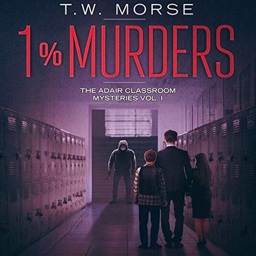 1% Murders audiobook cover art