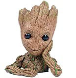 GTLAOGS Groot Flowerpot Guardiani della Galassia Baby Action Figures Cute Model Toy Pen Pot