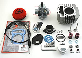 CRF110 132cc Big Bore Kit With VM26 Mikuni Carburetor Big Valve Kit