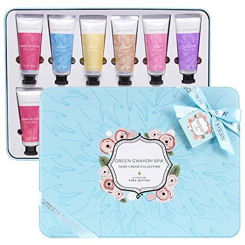 Green Canyon Spa Hand Cream Gift Set for Women 12pc Shea Butter Hand Lotion...