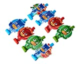 American Greetings PJ Masks Party Blowers, 8-Count - 331741