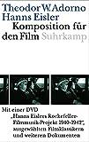 Komposition für den Film. Mit DVD: Hanns Eislers Rockefeller-Filmusik-Projekt 1940-1942, ausgewählte Filmklassikern und weiteren Dokumenten