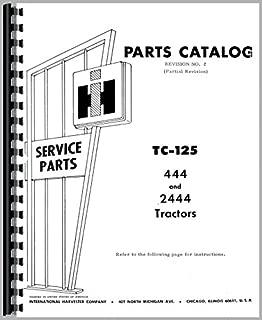 International Harvester 444 Tractor Parts Manual