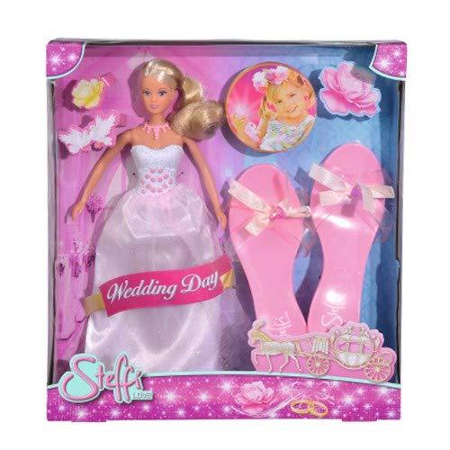 Simba 105737105 – Poupée Steffi Love Wedding Day