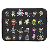 Owmousp Cute Heros 13-15 Inch Laptop Sleeve Bag Laptop Case Printing Neoprene Carrying Bag Anime Gaming Christmas New Year Gift