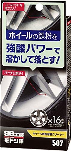 ソフト99コーポレーション『99工房モドシ隊 ホイール鉄粉溶解クリーナー』