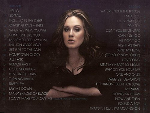 ADELE - Greatest Hits (cd + dvd digipack import Russie)