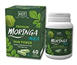 HOT Man Power Premium Morninga for active Nahrungsergänzungsmittel mit Maca, Grün, 60 capsules