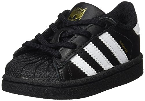 Adidas Superstar, Primeros Pasos Bebé-niños, Negro (Core Black/Footwear White/Footwear White), 25 EU