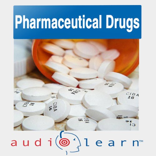Pharmaceutical Drugs AudioLearn audiobook cover art