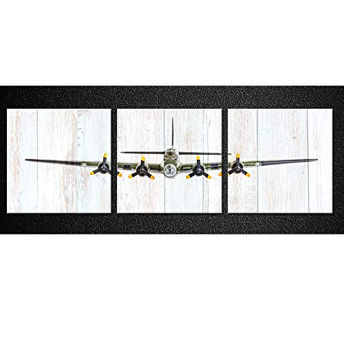 Kreative Arts Vintage Airplane B-17 Flying Fortress Bomber P...