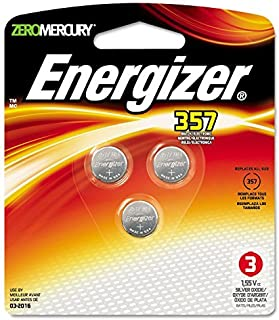 Watch/Electronic Battery, SilvOx, 357, 1.5V, MercFree, 3/Pk by EVEREADY BATTERY