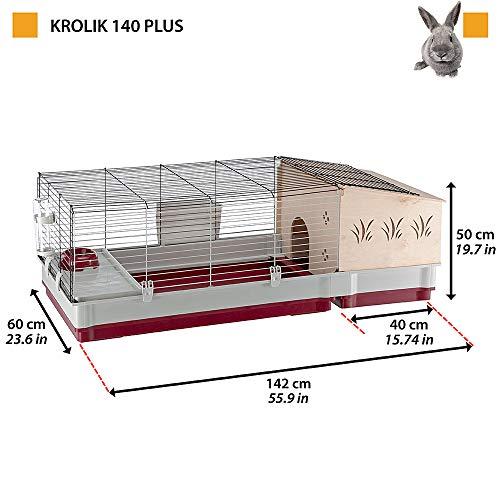 Ferplast 57072570 Nagerheim Krolik 140 Plus - 2