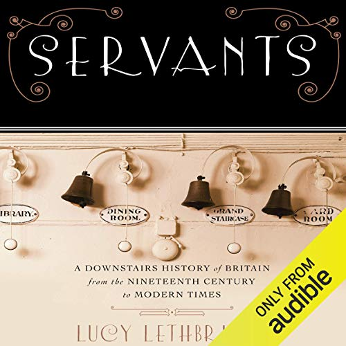 Servants Audiobook By Lucy Lethbridge cover art
