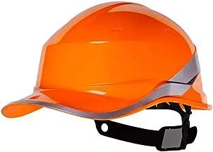 Capacete Segurança Proteção EPI Baseball Diamond Delta Plus Profissional Engenharia CA APROVADO e INMETRO Cor:LARANJA