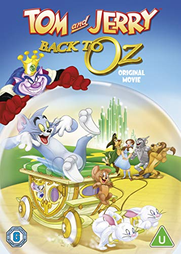 Tom and Jerry: Back to OZ [New line look] [DVD] [2016]