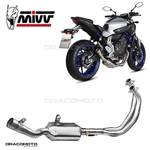 Escape Completo MT-07 2018 2019 Speed Edge MIVV Alto Hx