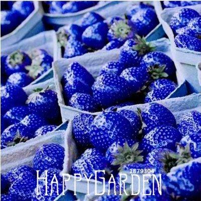 Chaud! 50 PCS / Bag Blue Rare Fruits et Légumes Strawberry Seeds Accueil Jardin Fruits Potted Plant,