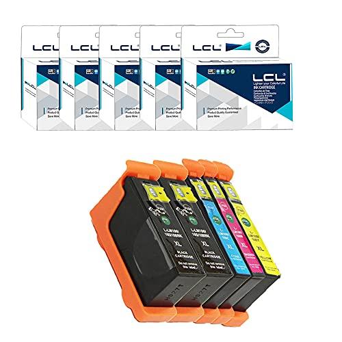 LCL 100XL 105XL High Yield 14N1608E 14N0850 Cartucho de Tinta Compatible para LEXMARK S301 302 305 S405 409 S505 S605 S308 S408 S508 S608 815 816 PRO205 209 705 707 709 805 901 905 208 708 (2K,C,M,Y)