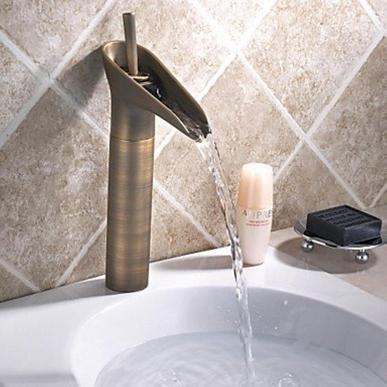 Tap Vintage Style Antique Brass Finish Bathroom Basin Faucet gro?